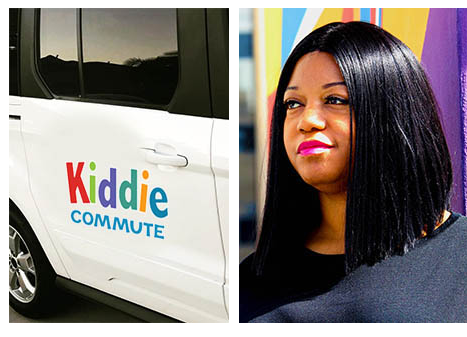owner of kiddie commute and the vehicle