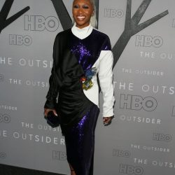"""Cynthia Erivo on the red carpet at the Premiere of HBO's """"The Outsider"""""""