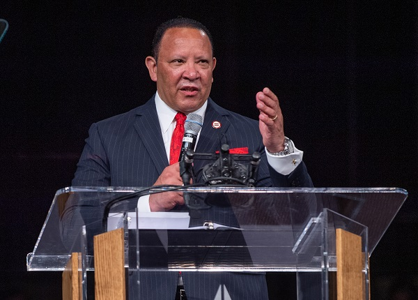 During the 2019 National Urban League Annual Conference held at the Indiana Convention Center in Indianapolis, Indiana on Wednesday, July 24, 2019