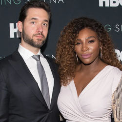 Alexis Ohanian-Serena pictured at HBO event