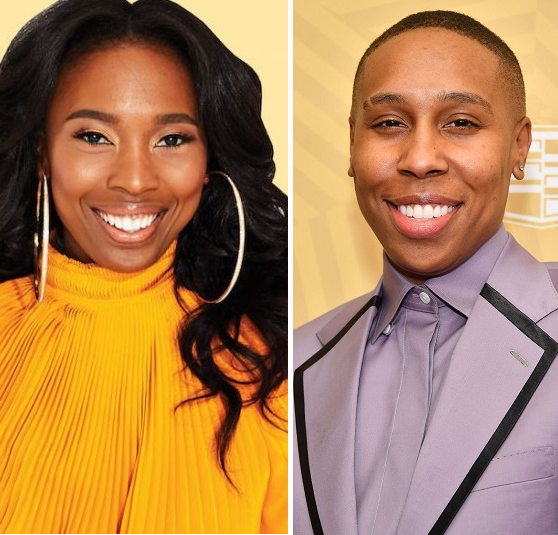 Lena Waithe and Zerina Akers headshots side by side