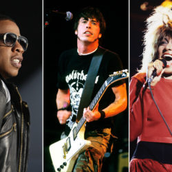 Collage Rock Hall of Fame Nominees