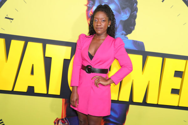 """Stacy Osei-Kuffour attends Premiere Of HBO's """"Watchmen"""" at The Cinerama Dome for Marvel"""