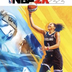 Two-time WNBA MVP Candace Parker will be the first female basketball player to grace the cover of the newest edition of popular video game NBA 2K
