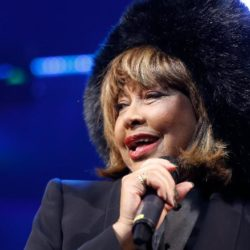 """Tina Turner at the premiere of """"Tina - Das Tina Turner Musical"""" at Stage Operettenhaus in Hamburg, Germany on March 3, 2019."""